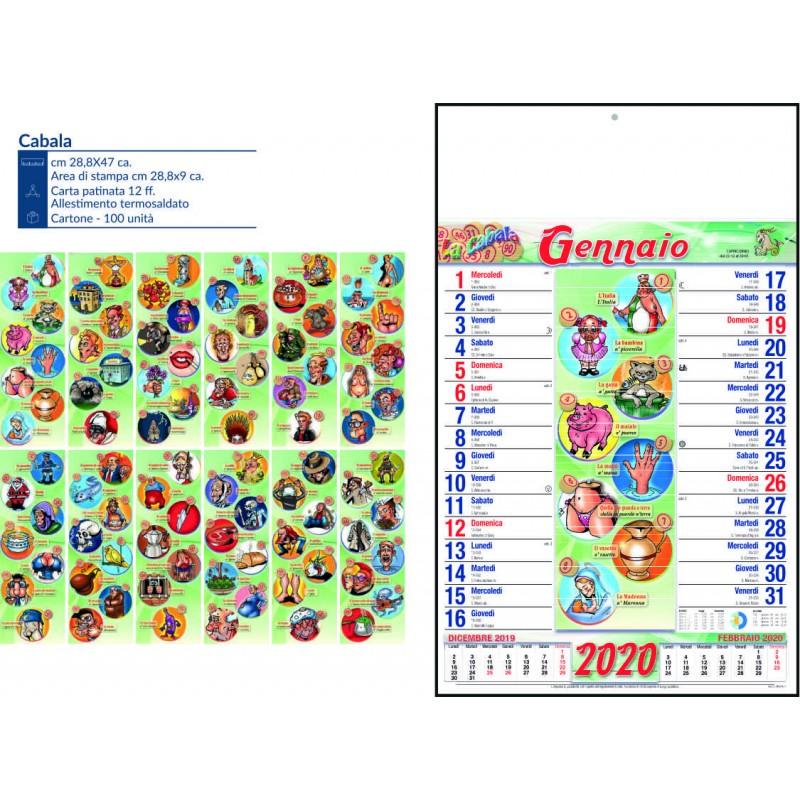 Calendario cabala