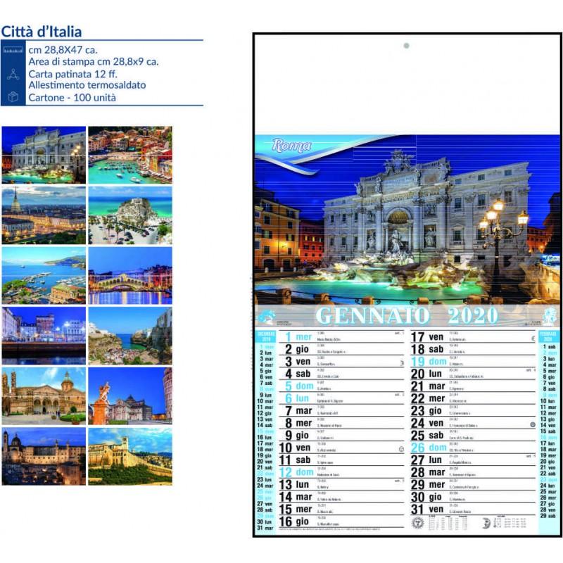 Calendario città d'Italia