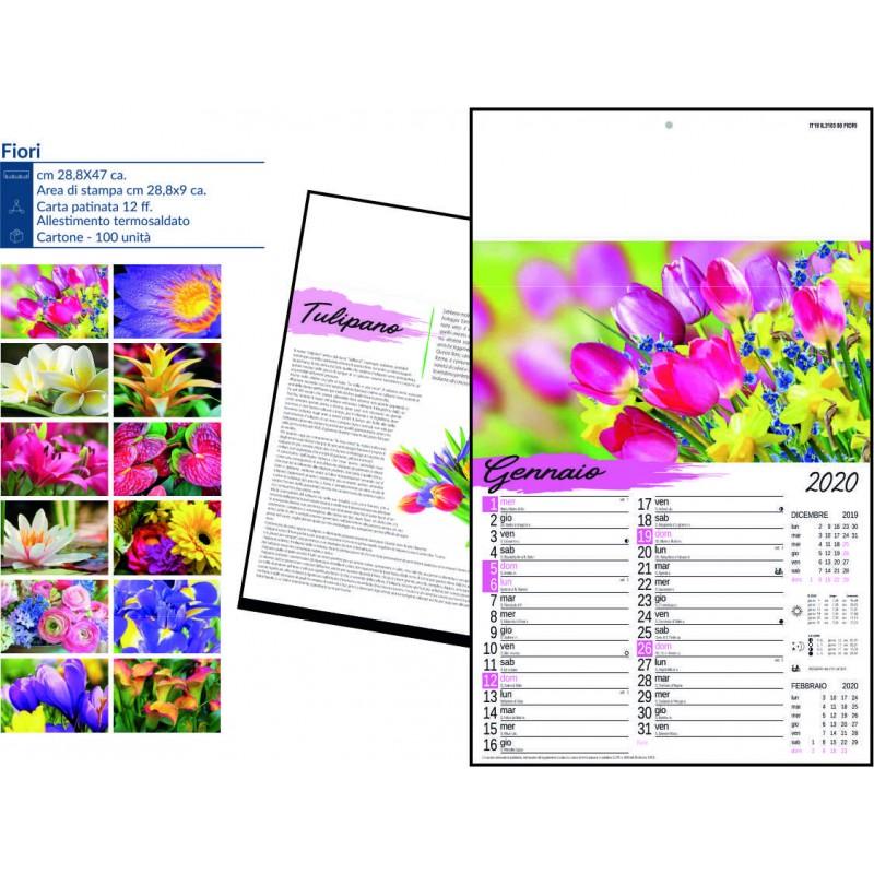 Calendario fiori