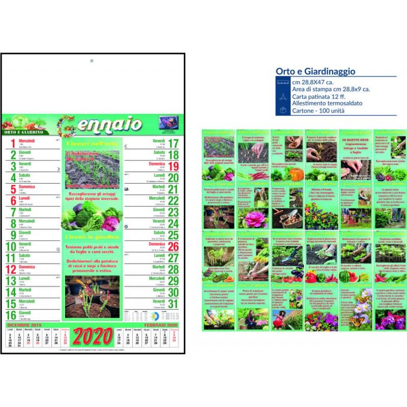 Calendario orto e giardino