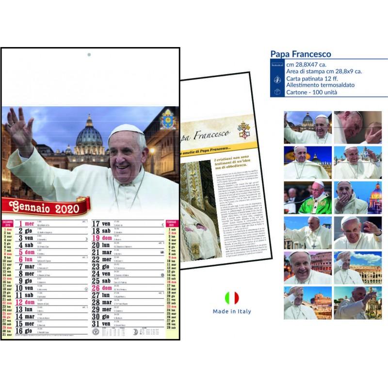 Calendari papa Francesco