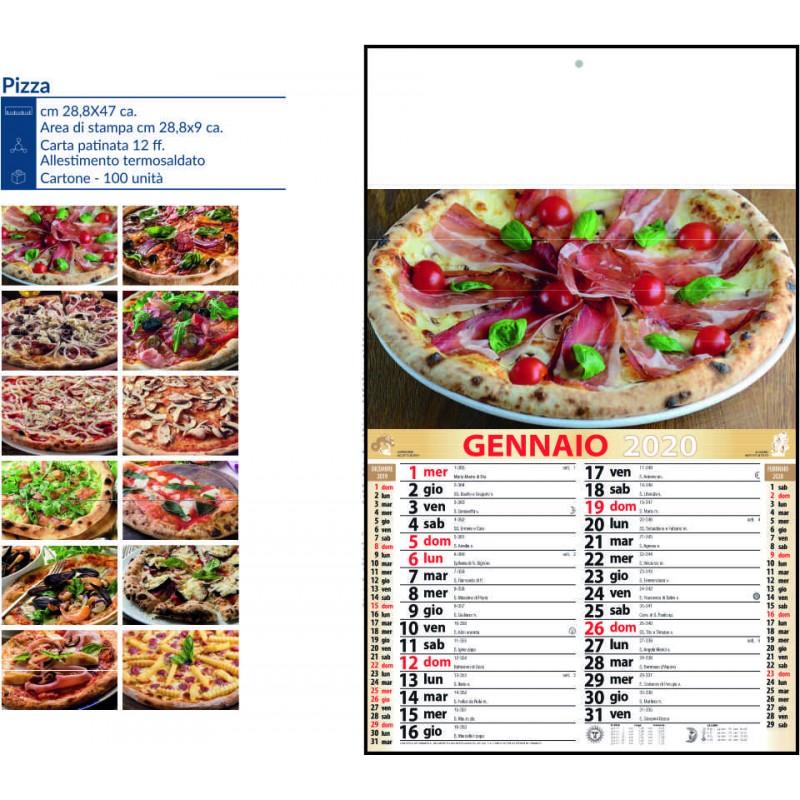 Calendari pizza