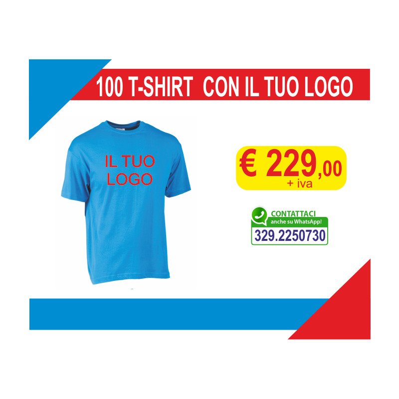 T-shirt con il tuo logo...
