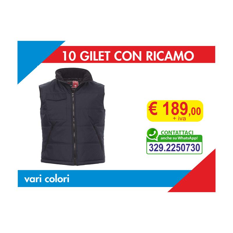 10 Gilet con Ricamo